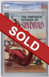 Fantastic Voyages of Sinbad #1