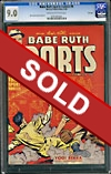 Babe Ruth Sports Comics #8