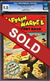 Captain Marvel Story Book #4