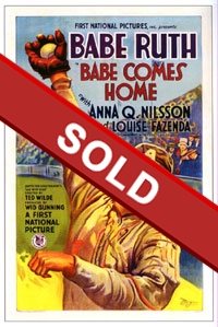 Babe Comes Home One Sheet Poster