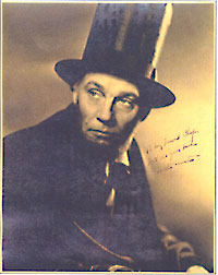 Walter Huston Signed Still