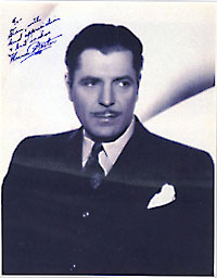 Warner Baxter Signed Photo