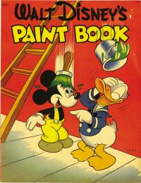 Walt Disney's Paint Book #677