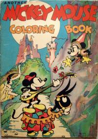 Mickey Mouse Coloring Book #2110