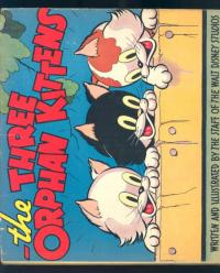 Three Orphan Kittens Hardcover Book
