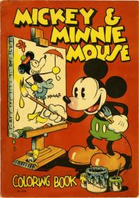 Mickey and Minnie Mouse Coloring Book #979