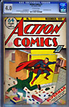 Action Comics #7CGC 4.0 ow