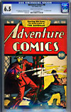 Adventure Comics #40CGC 6.5 cr/ow