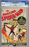 Amazing Spider-Man #1CGC 9.2 ow